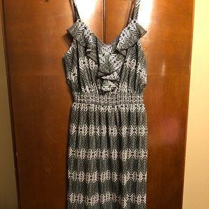 Lightweight casual maxi summer dress